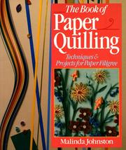 Cover of: The book of paper quilling