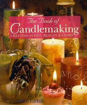 Cover of: The book of candlemaking