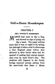 Cover of: Half-a-dozen housekeepers | Kate Douglas Smith Wiggin