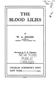 Cover of: The blood lilies