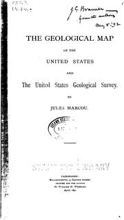 Cover of: The geological map of the United States and the United States Geological Survey
