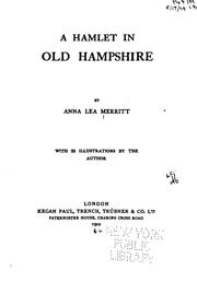 Cover of: A hamlet in old Hampshire