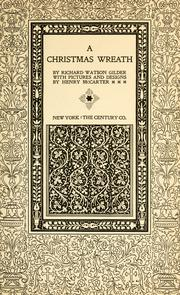 Cover of: A Christmas wreath