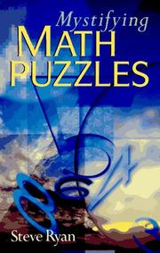 Cover of: Mystifying math puzzles