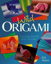 Cover of: Wild origami