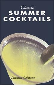Cover of: Classic summer cocktails