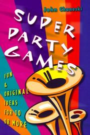 Cover of: Super Party Games