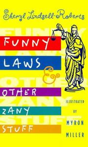 Cover of: Funny Laws & Other Zany Stuff