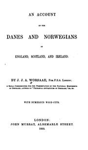 Cover of: An account of the Danes and Norwegians in England, Scotland, and Ireland