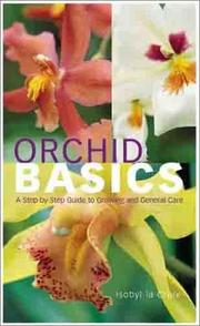 Cover of: Orchid Basics