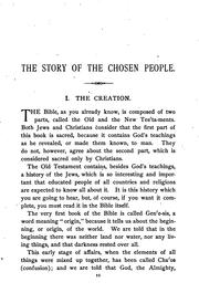 Cover of: The story of the chosen people
