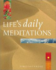 Cover of: Life's Daily Meditations
