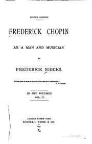 Cover of: Frederick Chopin