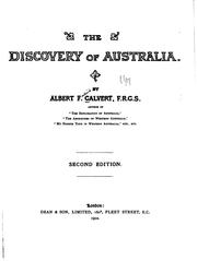 Cover of: The discovery of Australia