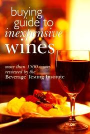 Cover of: Buying Guide To Inexpensive Wines