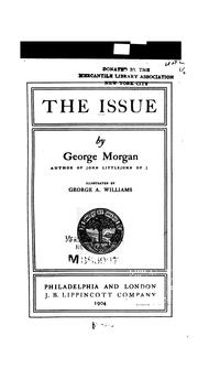 Cover of: The issue