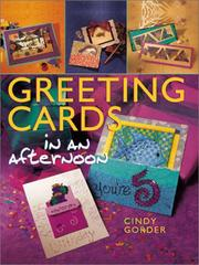 Cover of: Greeting Cards in an Afternoon