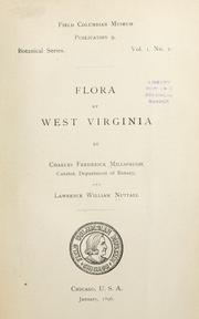 Cover of: Flora of West Virginia | Charles Frederick Millspaugh