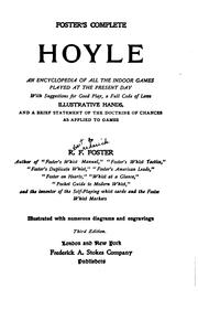 Foster's complete Hoyle by R. F. (Robert Frederick) Foster