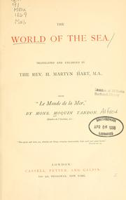 Cover of: The world of the sea