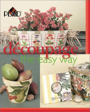 Cover of: Decoupage the Easy Way