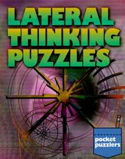 Cover of: Pocket Puzzlers: Lateral Thinking Puzzles