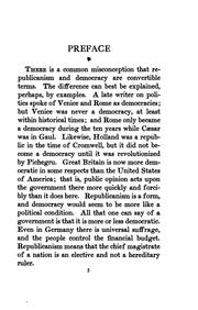 Cover of: True republicanism; or, The real and ideal in politics | Frank Preston Stearns
