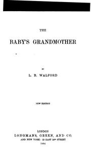 Cover of: The baby's grandmother