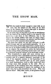 Cover of: The snow man: a novel