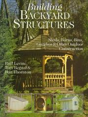 Cover of: Building backyard structures