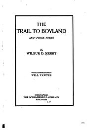Cover of: The trail to Boyland