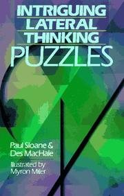 Cover of: Intriguing lateral thinking puzzles