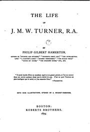 Cover of: The life of J. M. W. Turner, R.A
