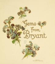 Cover of: Gems from Bryant