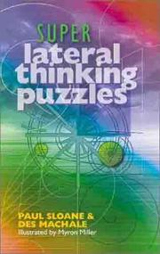 Cover of: Super Lateral Thinking Puzzles