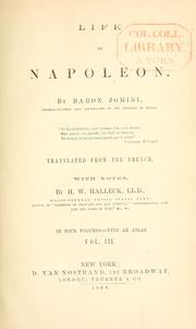 Cover of: Life of Napoleon