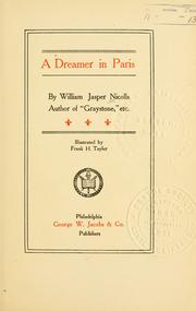 Cover of: A dreamer in Paris