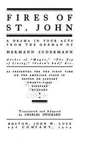 Cover of: Fires of St. John