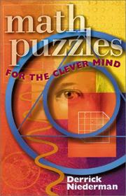 Cover of: Math Puzzles for the Clever Mind | Derrick Niederman