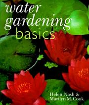 Cover of: Water gardening basics