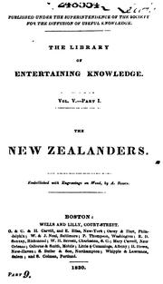 Cover of: The New Zealanders