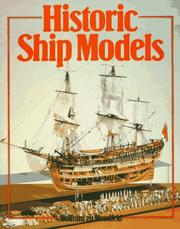 Cover of: Historic Ship Models