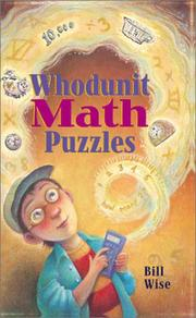 Cover of: Whodunit Math Puzzles