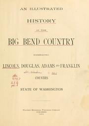 Cover of: An illustrated history of the Big Bend country |