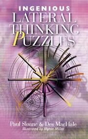 Cover of: Ingenious lateral thinking puzzles