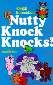 Cover of: Nutty Knock Knocks!