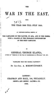 Cover of: The war in the East