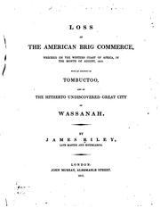 Loss of the American brig Commerce by Riley, James