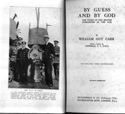 Cover of: By guess and by God: the story of the British submarines in the war