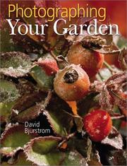 Cover of: Photographing Your Garden